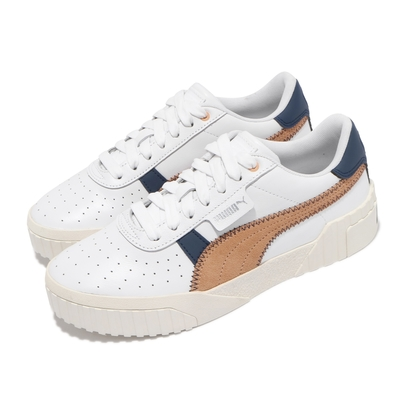 Puma 休閒鞋 Cali Retro Wns 女鞋 海外限定 厚底 復古 穿搭推薦 白 棕 37209501