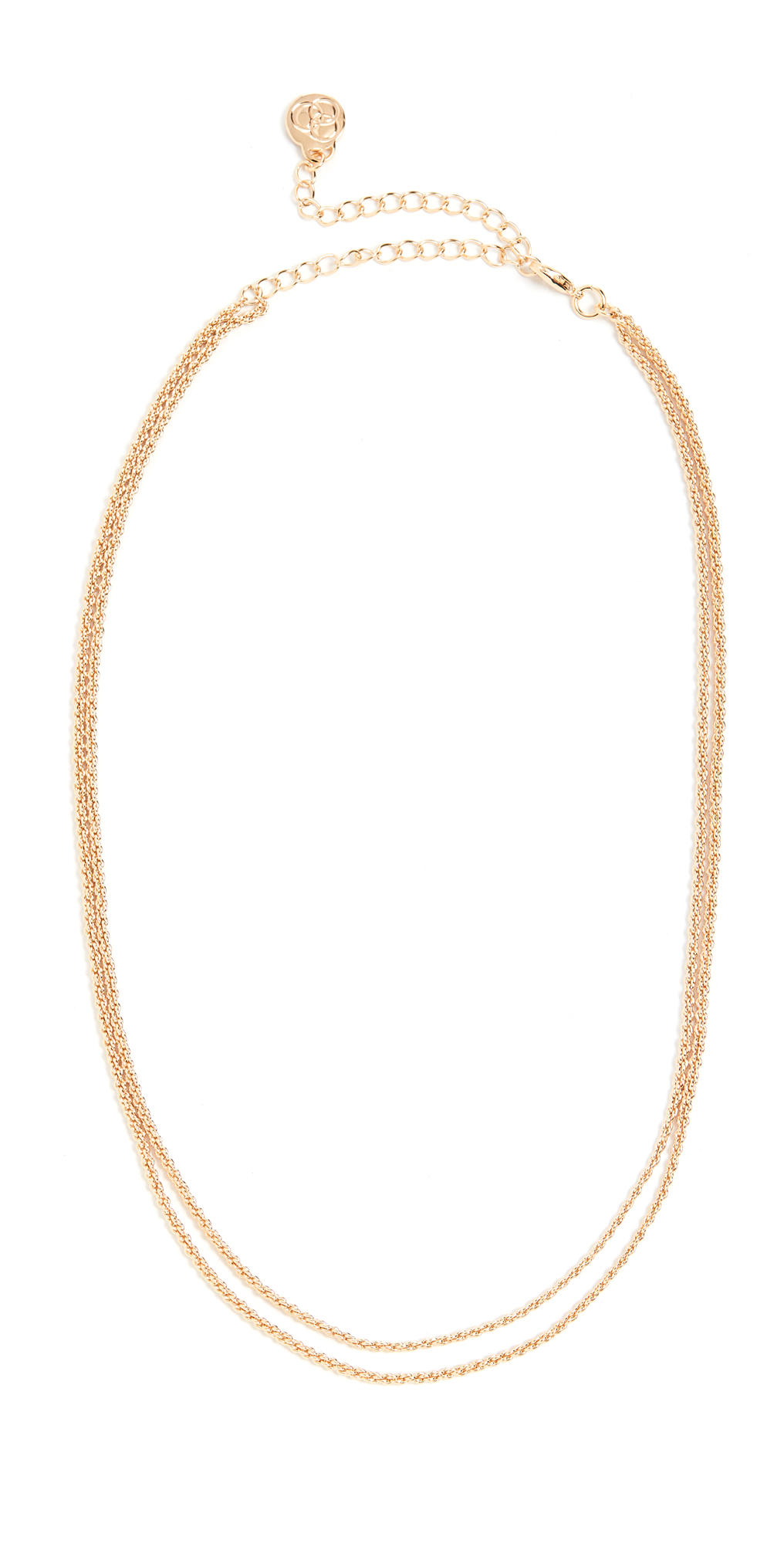 Cloverpost Pedal Necklace Yellow Gold One Size
