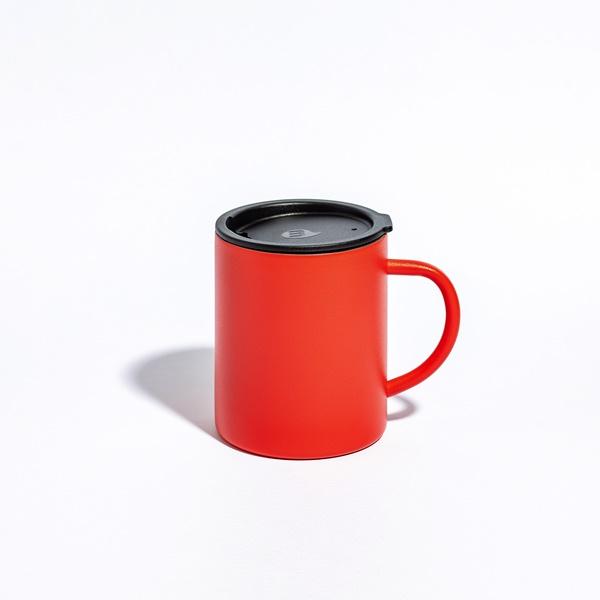 9折/2件85折/3件8折↘MIZU-不鏽鋼露營杯450ml(附杯蓋)-跳跳虎 (橘紅)【感恩祭】