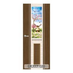 【橙門 Orangedoor】房間門/浴室門-防潮、防蛀、表層耐磨、有效降噪-OR3009-02D