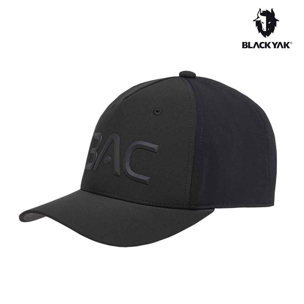 【BLACKYAK】BAC棒球帽 [黑色] LOGO 遮陽帽 休閒 軍帽 運動帽 棒球帽 | BYAB1NAG0395
