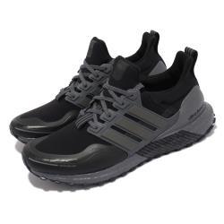 adidas 慢跑鞋 Ultraboost C Rdy 反光 男鞋 海外限定 愛迪達 避震 路跑 運動 球鞋 黑 灰 FZ3616 [ACS 跨運動]