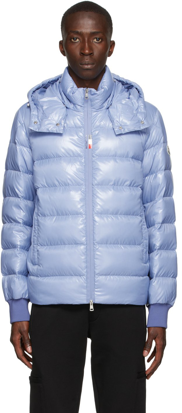 Moncler 蓝色 Cuvellier 羽绒夹克