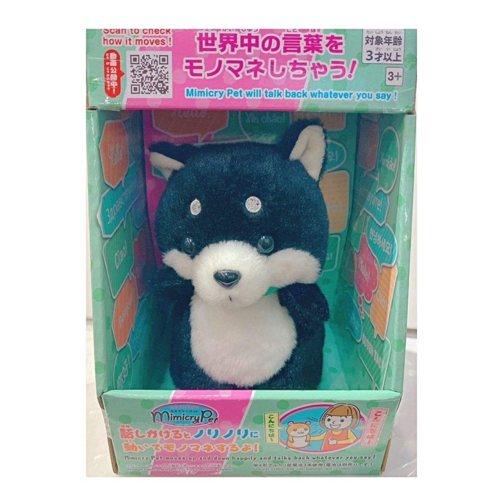 日本T-ARTS 迴聲寵物 黑柴犬_TA54576 TAKARA TOMY