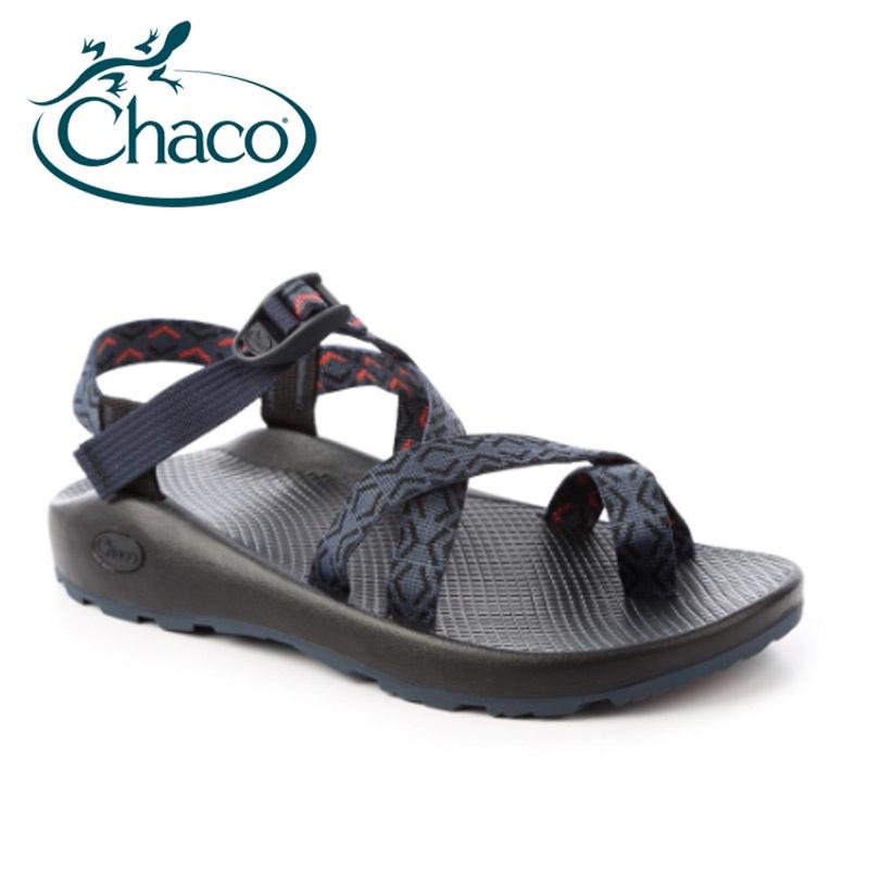 【Chaco】Z/CLOUD 2 男越野運動寬版夾腳涼鞋-奔騰海洋 CH-ZCM02-HE14