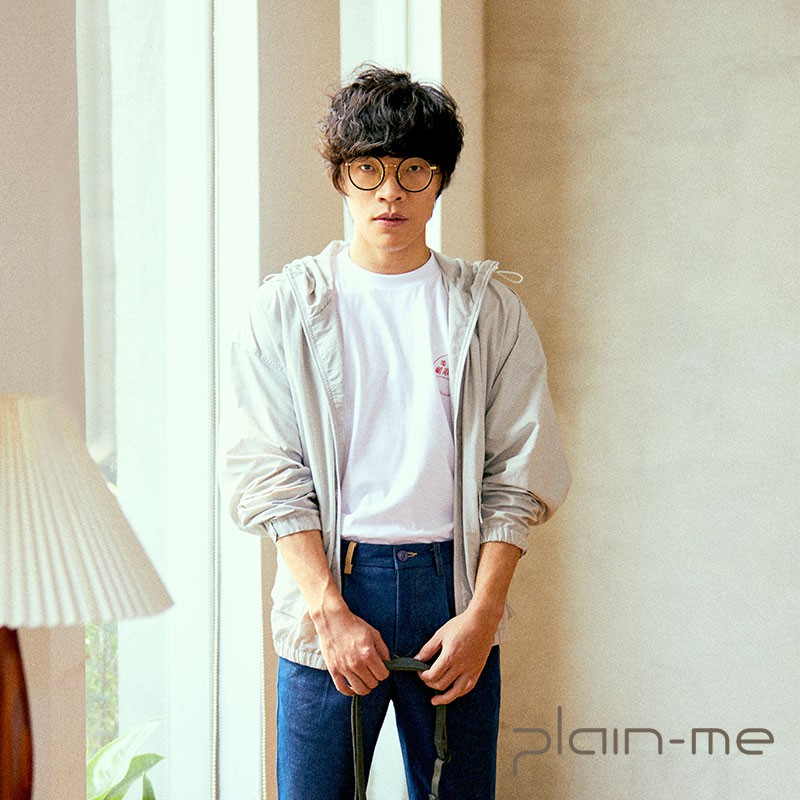 【plain-me】埔鹽順澤宮 x plain-me 帽印花TEE CRV0055