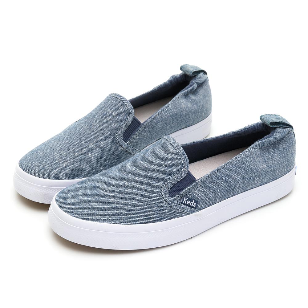 DARCY SLIP 文青休閒便鞋-藍