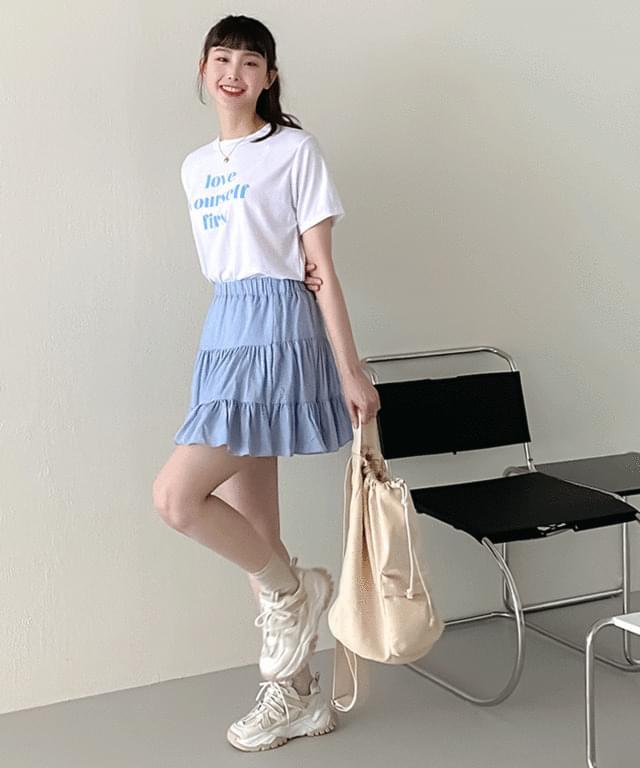 韓國空運 - 26-30 Inch Cloud Banding Mini Cancan Skirt 裙子