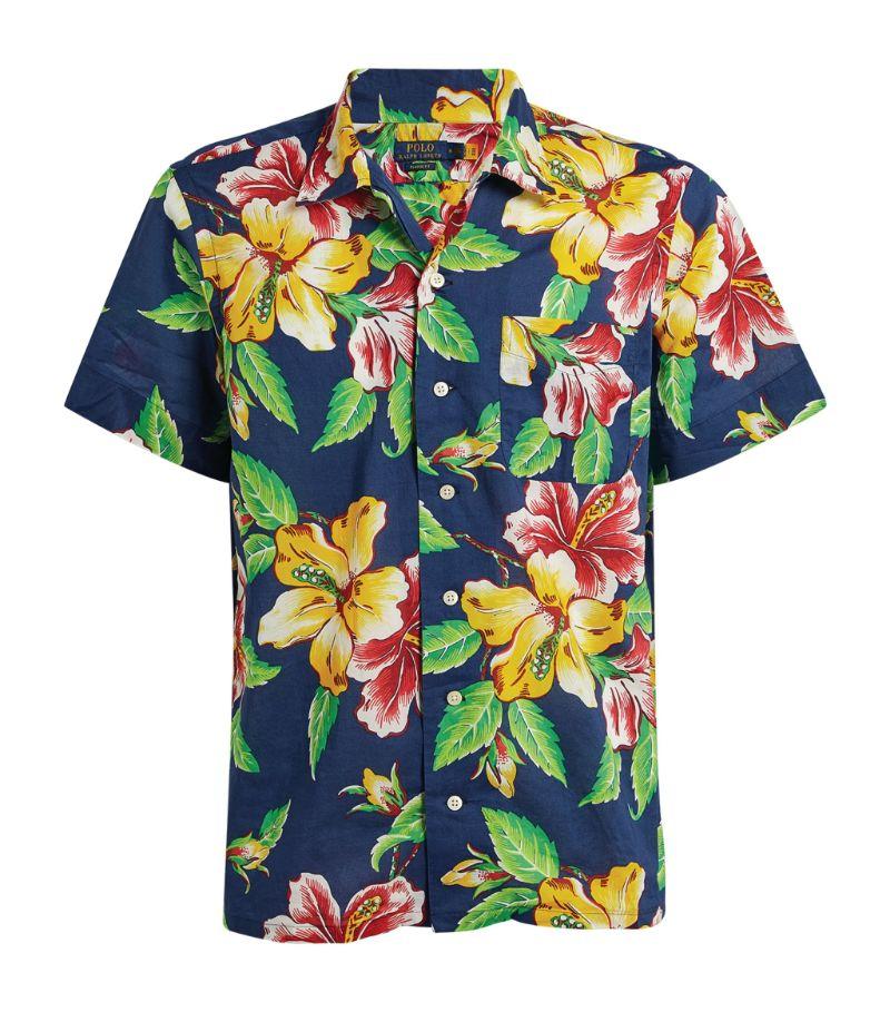 Polo Ralph Lauren Vintage Hibiscus Print Shirt