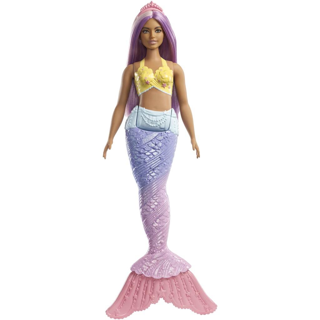 MATTEL 芭比夢托邦美人魚系列 芭比 美人魚 娃娃 正版 美泰兒
