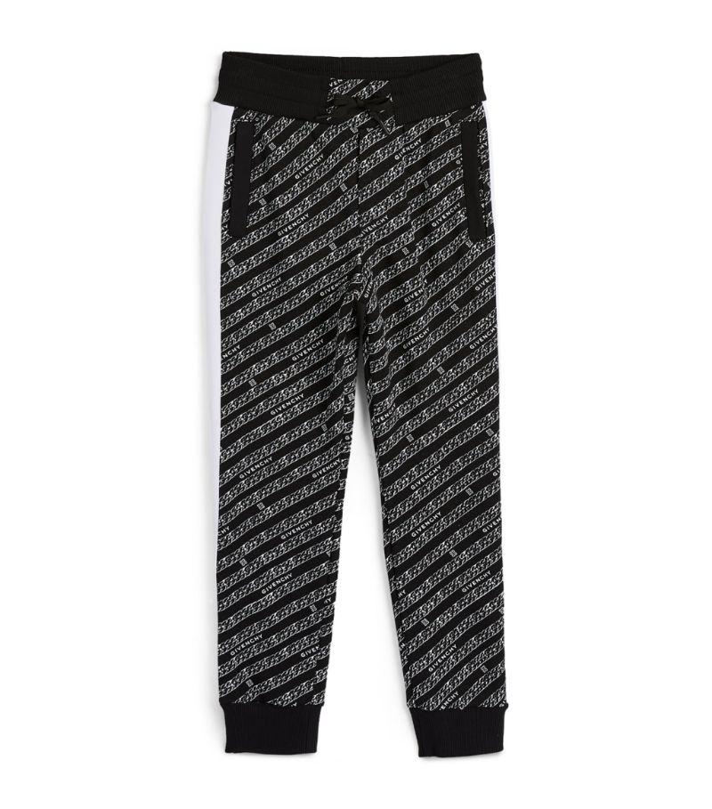 Givenchy Kids Chaîne Print Logo Sweatpants (4-14 Years)