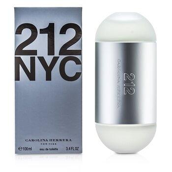 SW CAROLINA HERRERA-4 212 NYC 都會女性淡香水 2x50 ml