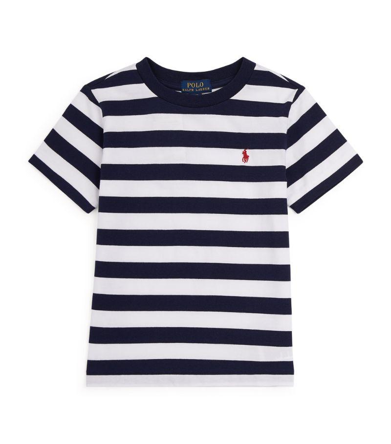 Ralph Lauren Kids Cotton Striped T-Shirt (2-4 Years)