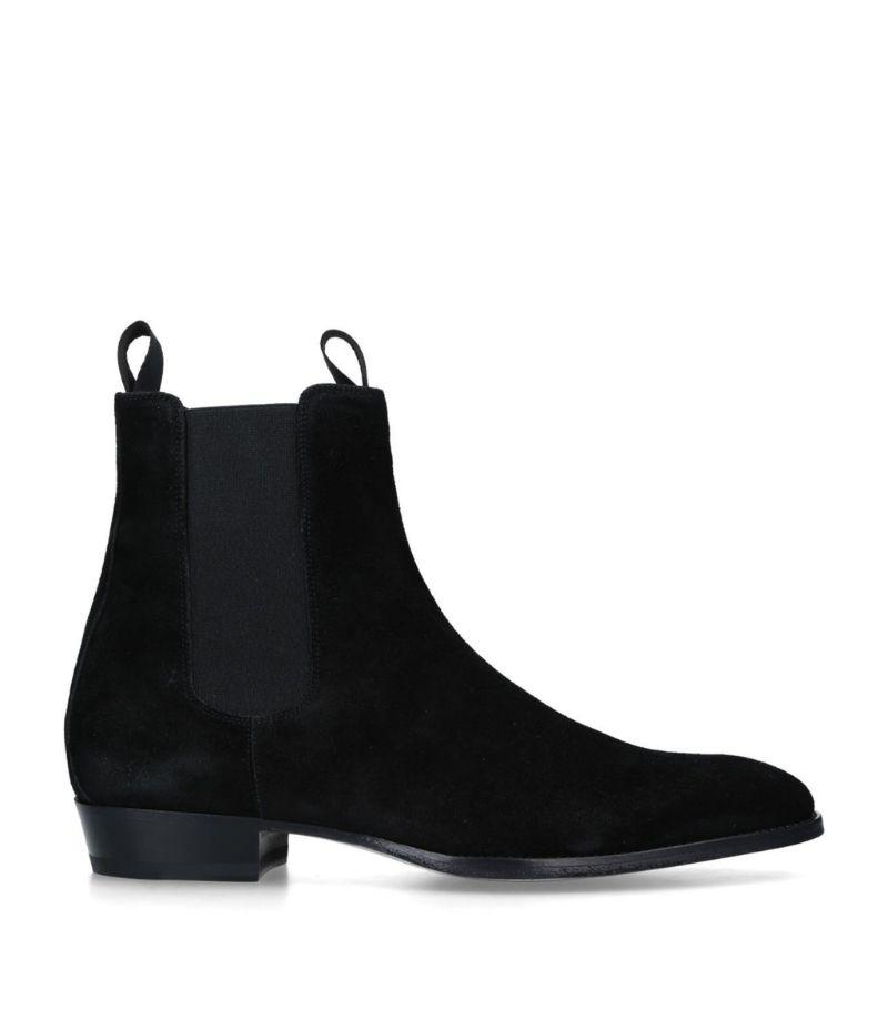 Giuseppe Zanotti Suede Chelsea Boots