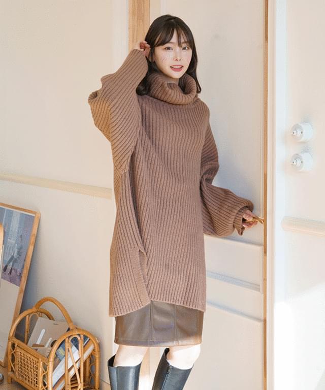 韓國空運 - Big 26-38 Inch Uni Midi Leather Skirt 裙子