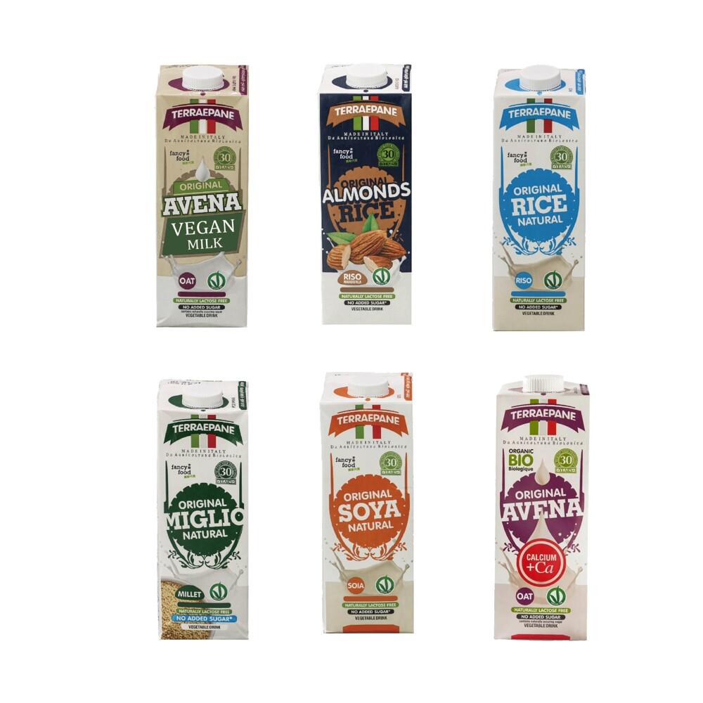 義大利原裝進口-terraepane特別棒植物奶 (經典系列) 1000ml*10瓶