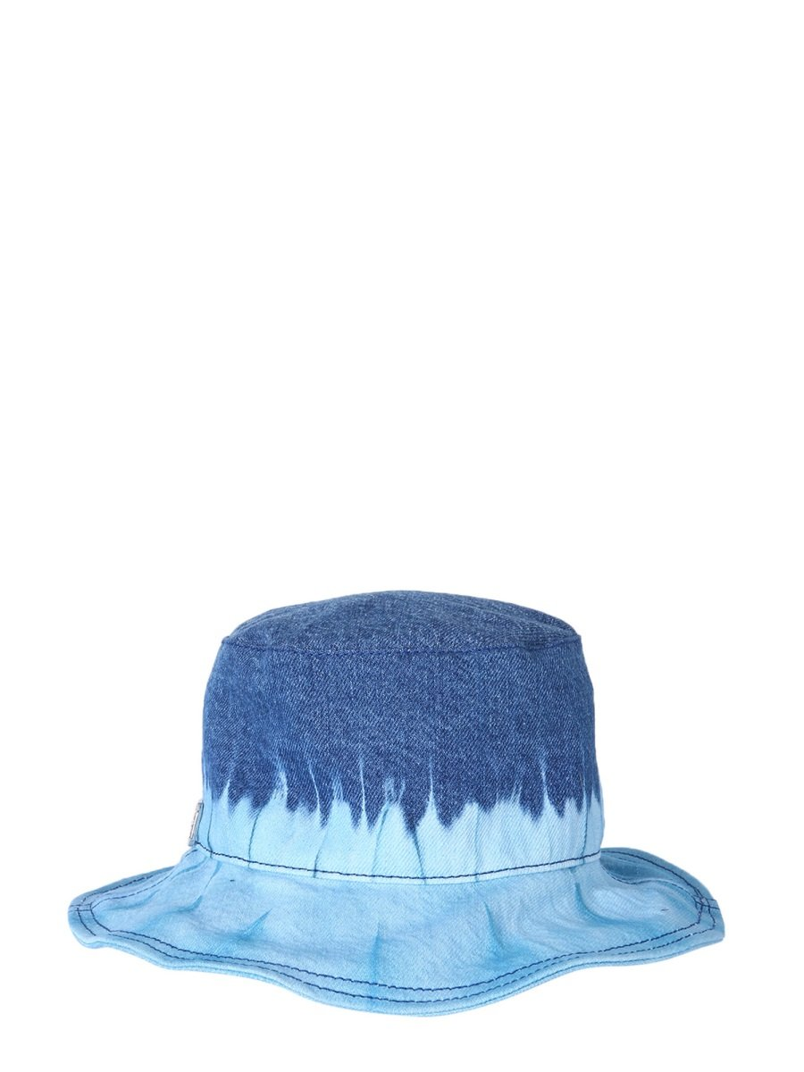 BUCKET HAT WITH TIE DYE PRINT