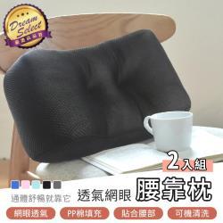 腰靠枕 2入組 靠枕 腰枕 護腰靠墊 午睡枕 抱枕枕頭 靠背 椅背墊 靠背枕 椅墊 護腰枕