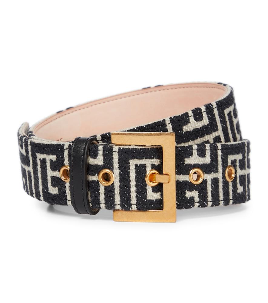 B-Classic monogram jacquard belt