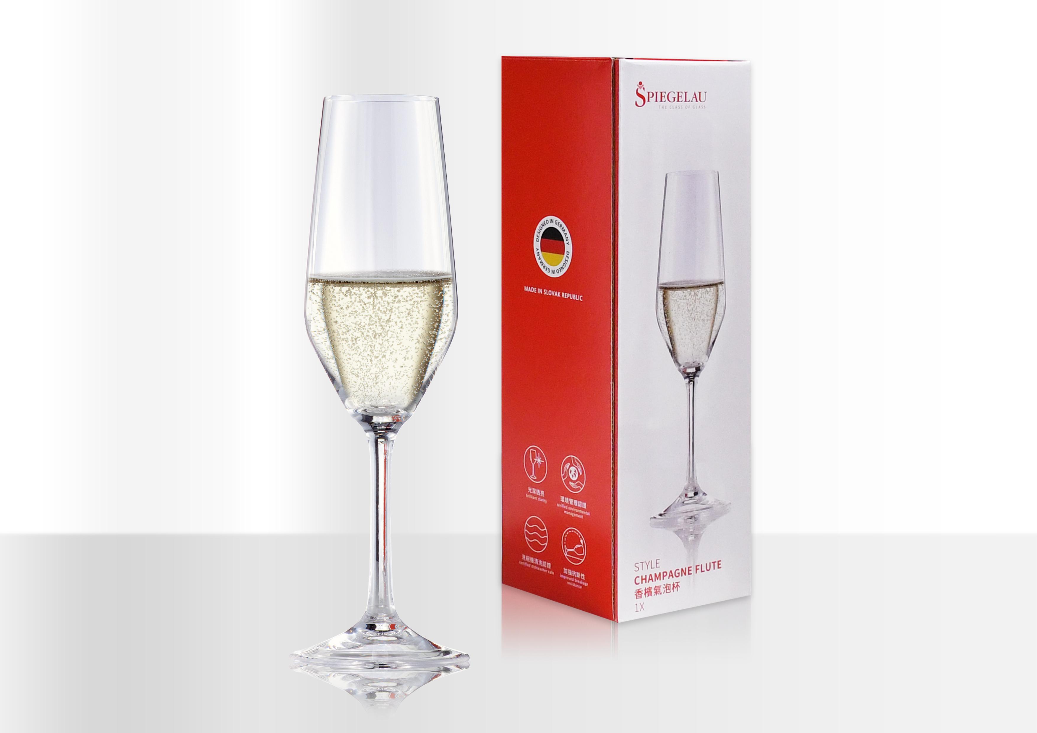 Ariel Wish德國進口500年貴族奢華無鉛水晶玻璃杯Spiegelau香檳氣泡酒杯四入組-團購優惠至6/18截止