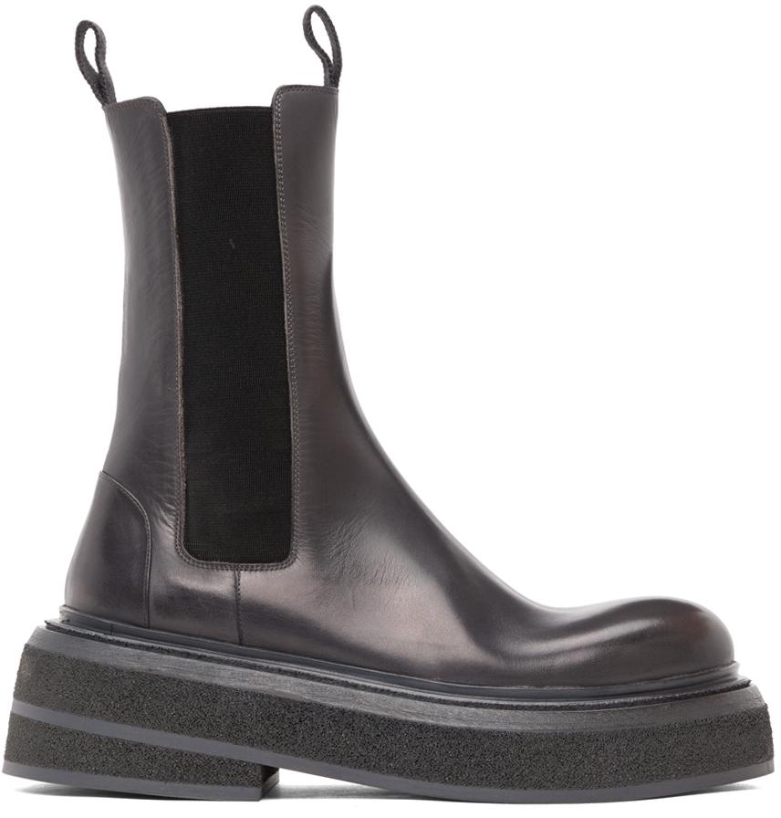 Marsèll 灰色 Zuccone 踝靴