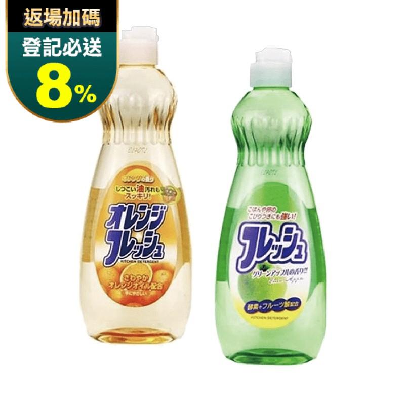 日本火箭石鹼蔬果碗盤洗潔精(600ml)