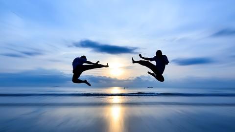 Flips & Kicks! Der Einsteigerkurs fr Kampfkunst Akrobatik