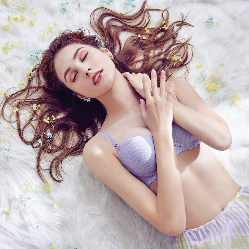 【瑪登瑪朵】無比集中內衣  B-E罩杯(迷迭紫)