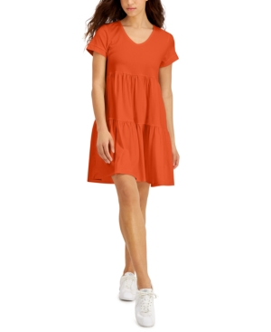 Willow Drive V-Neck T-Shirt Dress