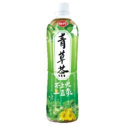 味丹 青草茶560ml(24入/箱)