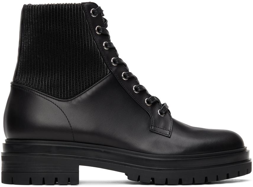 Gianvito Rossi 黑色 Martis 20 踝靴