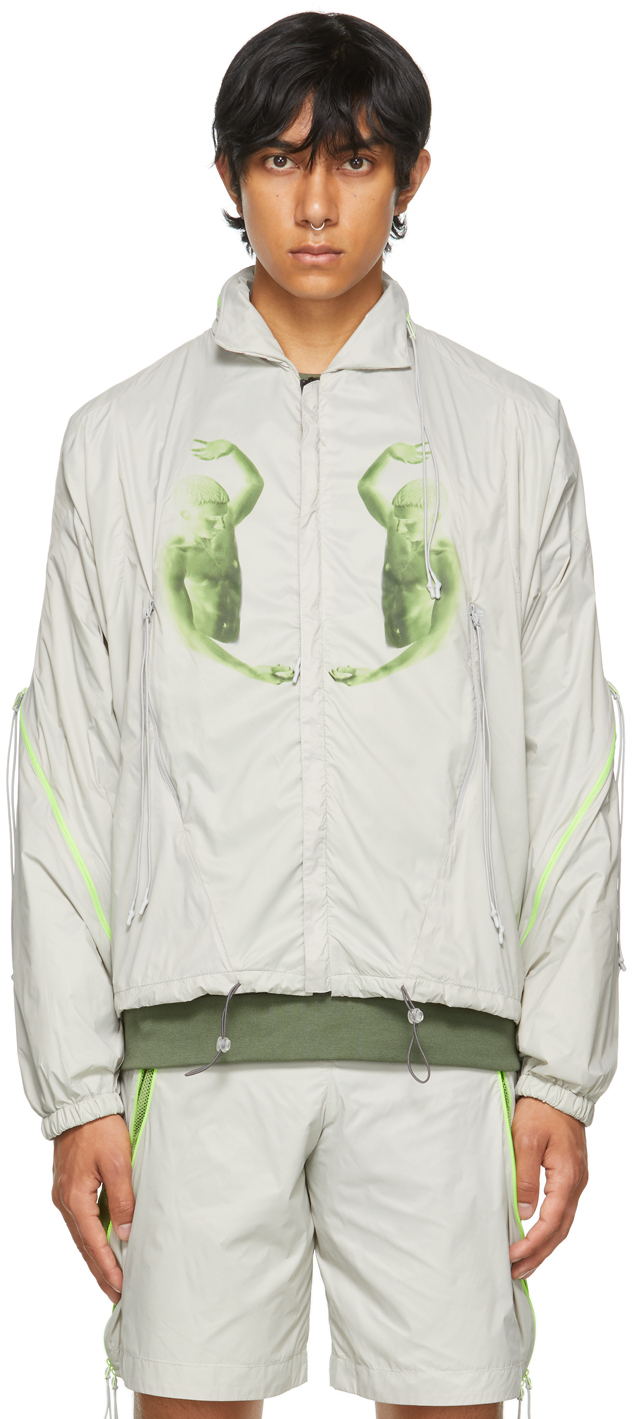 Saul Nash 灰色 Flip Side 夹克
