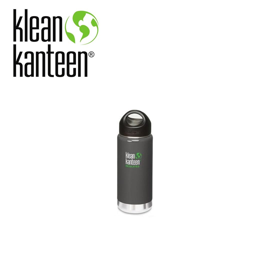 【Klean Kanteen】12oz不銹鋼保溫水瓶 海鳥灰色(355ml) K12VWSSL