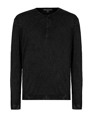 John Varvatos Collection Regular Fit Henley Shirt