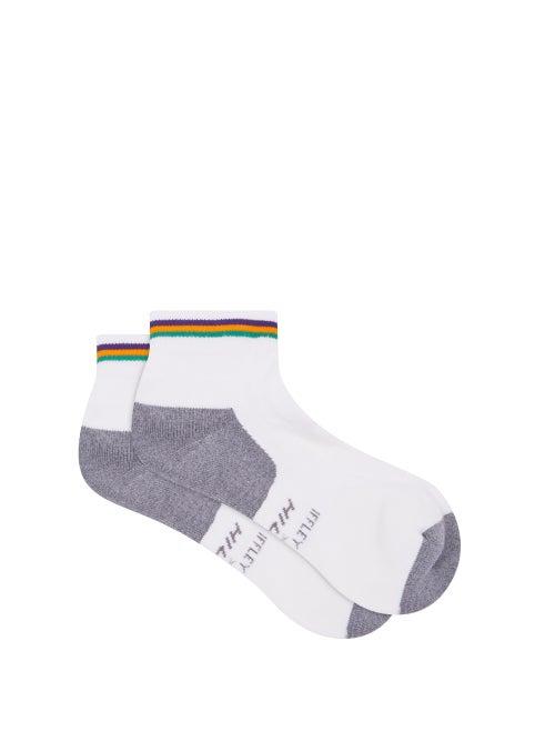 Iffley Road - X Hilly Drirelease Running Socks - Mens - White