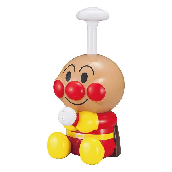 日本 麵包超人 小小造型2WAY噴水玩具