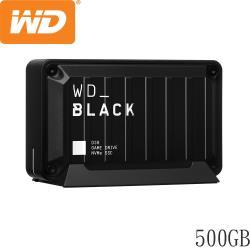 WD威騰 BLACK D30 Game Drive SSD 500GB固態硬碟 WDBATL5000ABK-WESN