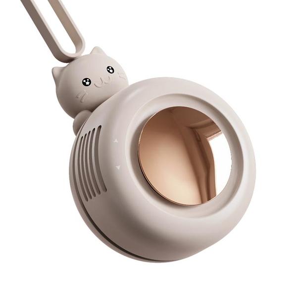usb掛脖小風扇小型學生宿舍便攜式迷你可充電夾式無葉靜音隨身