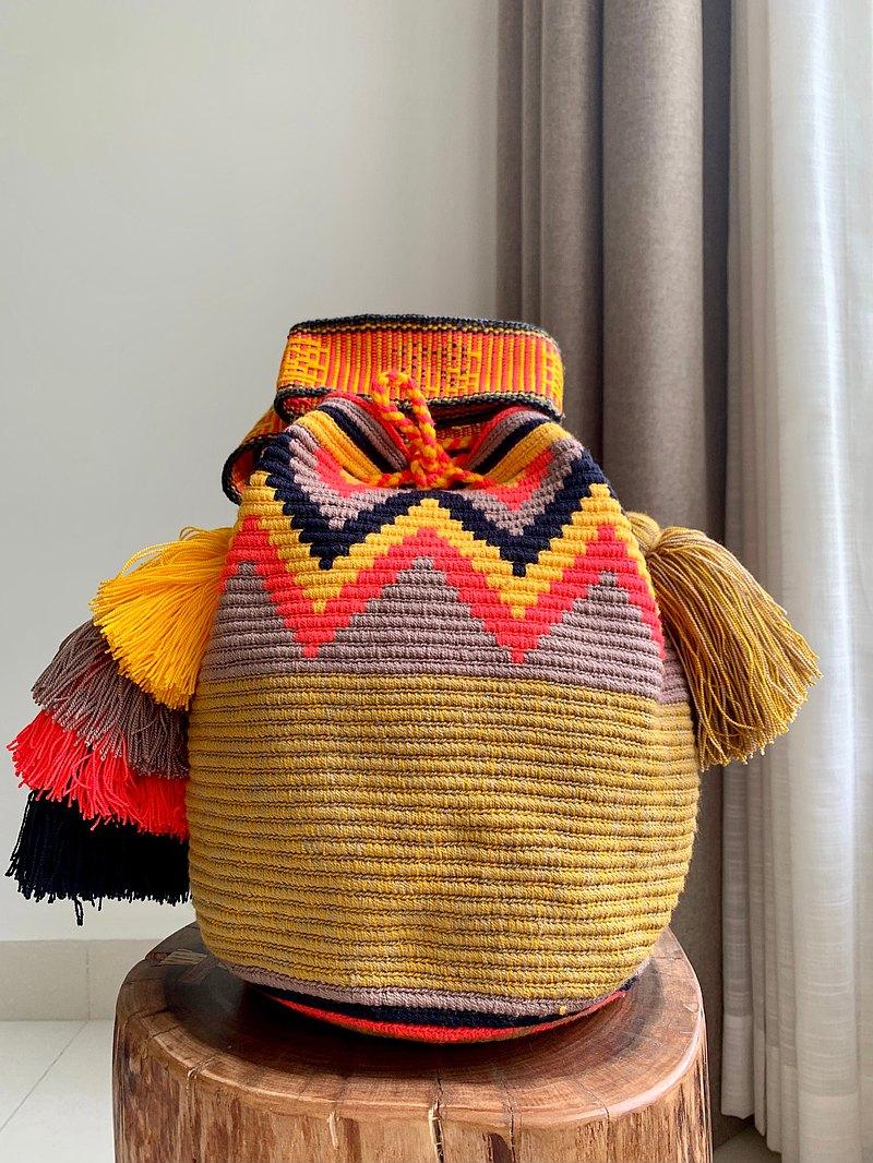 新款哥倫比亞 Wayuu 手織袋