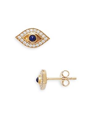 Argento Vivo Evil Eye Stud Earrings