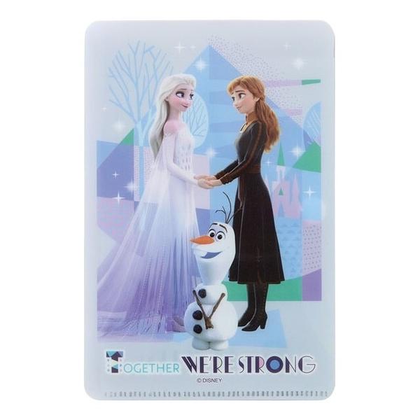 小禮堂 迪士尼 冰雪奇緣 兒童口罩夾 (藍牽手款) 4973307-52932