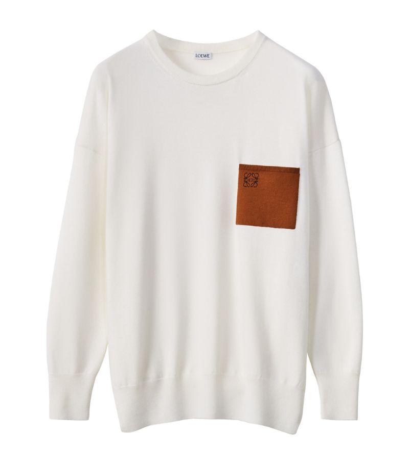 Loewe Wool Anagram Pocket Sweater