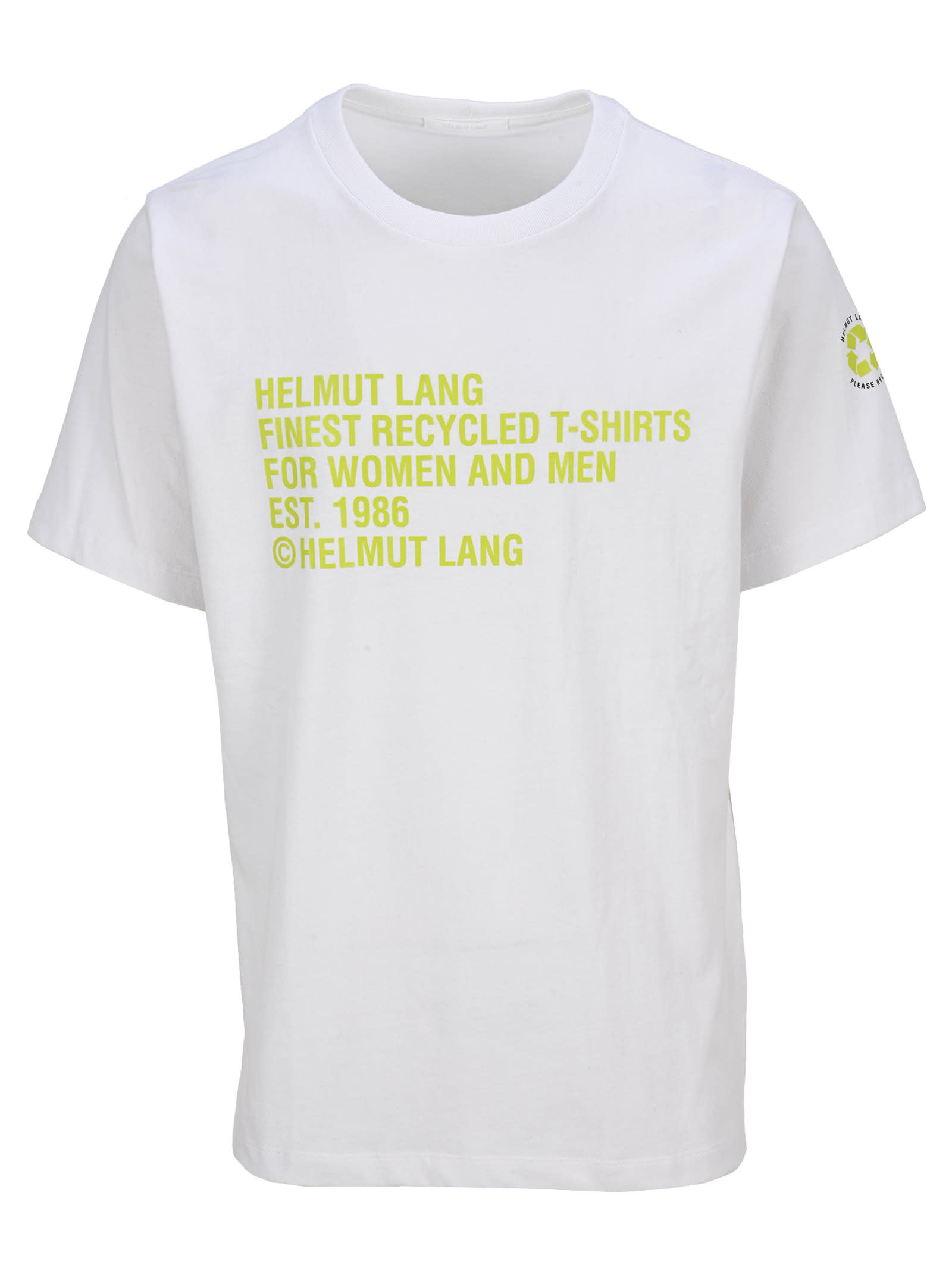Helmut Lang Recycled T-shirt