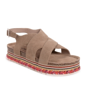 Muk Luks Women's Beach Bingo Platform Sandals Women's Shoes