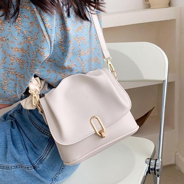 今年流行小包包女2021新款潮夏季高級質感小眾洋氣側背斜背包百搭 小天使