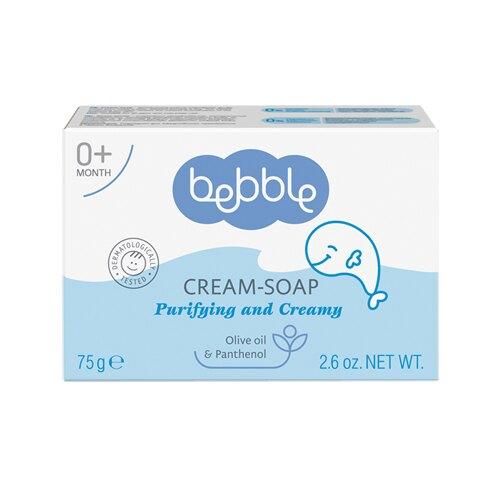 Bebble貝朵 新生兒橄欖柔膚皂75g