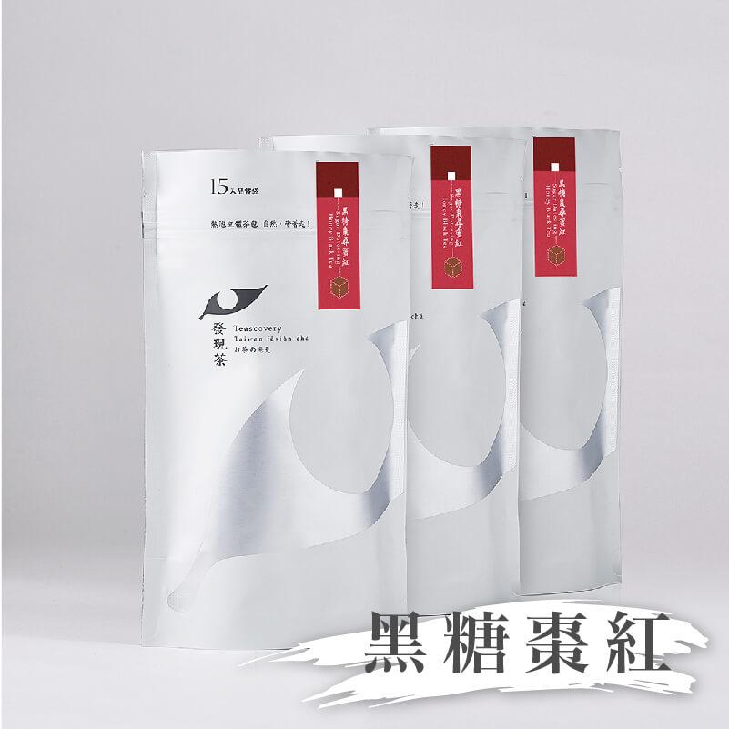 熱泡立體茶包-黑糖棗尋蜜紅品嘗袋三入組(生理期專用)