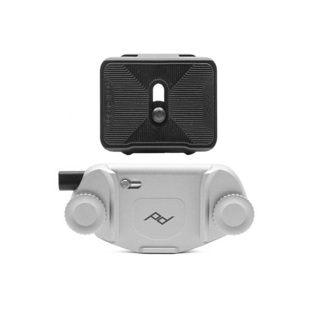 ◎相機專家◎ PEAK DESIGN Capture V3 相機快夾 時尚銀/典雅黑 + 專業雙用快板組 適 背帶 皮帶 公司貨