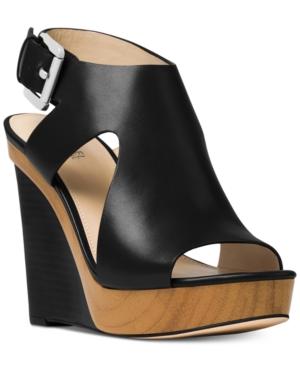 Michael Michael Kors Josephine Wedge Sandals Women's Shoes