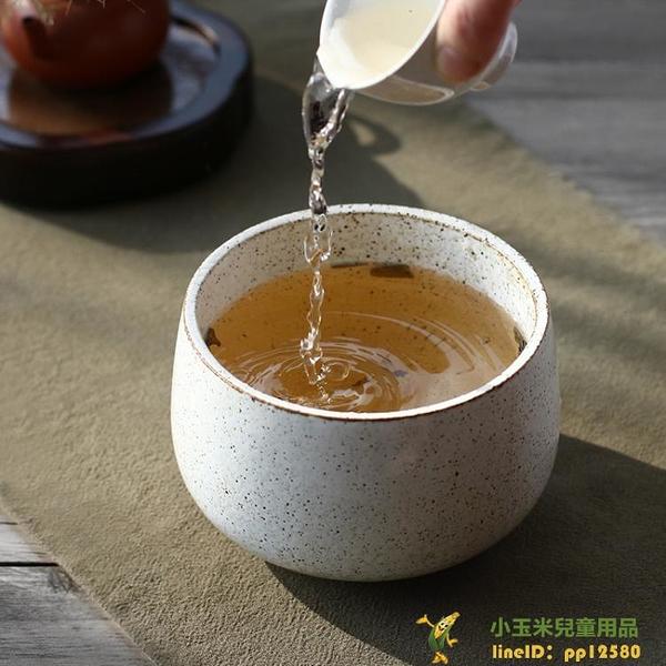 日式茶渣桶功夫茶具配件陶瓷水盂茶洗粗陶建水水洗【小玉米】
